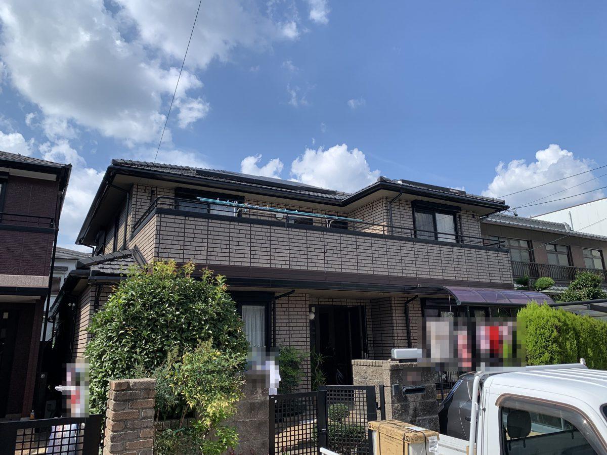 春日井市八光町 2色塗り・ダブルトーン塗装施工動画📸