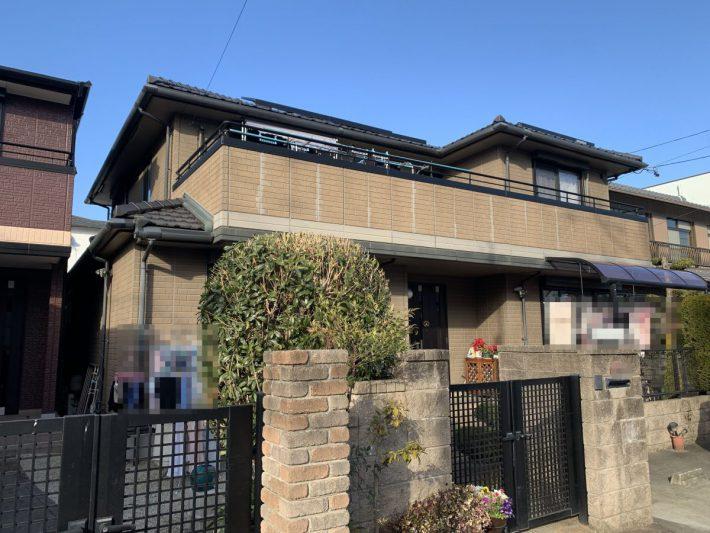 春日井市八光町 S様邸 外壁塗装・防水・トップライト補修工事