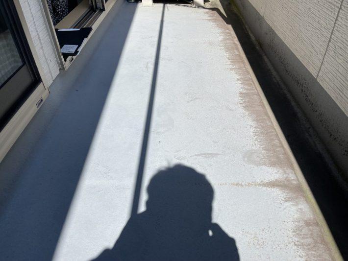 春日井市高山町 H様邸 ベランダ床塗装・シーリング部分工事
