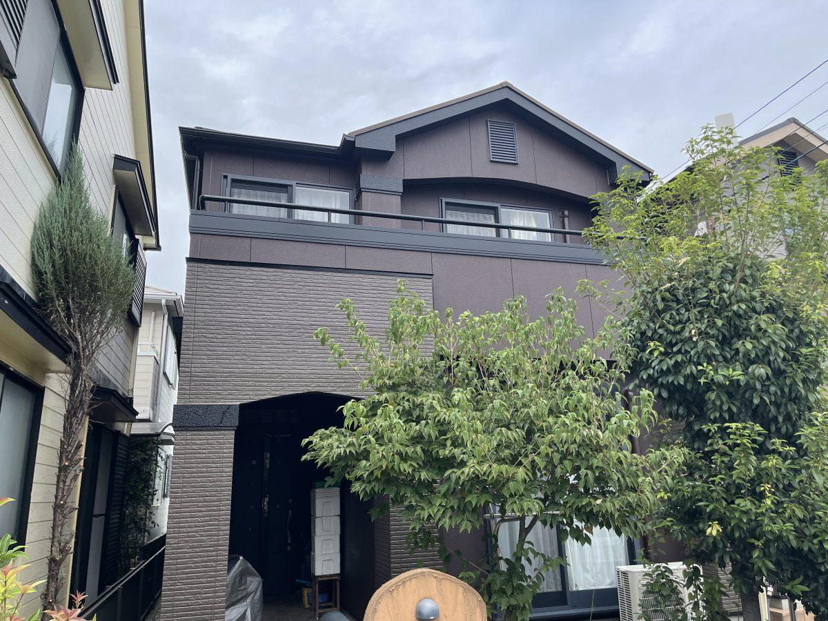 春日井市大手町 S様邸 外壁塗装工事